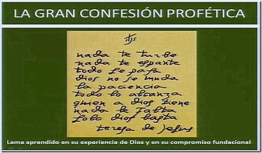 18 Confesión Profética de Santa Teresa-001