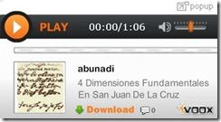 4 Dimensiones San Juan de la Cruz