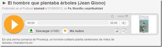 El hombre que plantaba árboles de Jean Giono