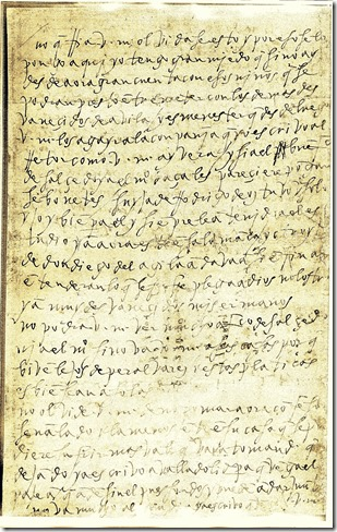 A don Lorenzo de Cepeda en Toledo, Toledo hacia el 9 de julio de 1576 01