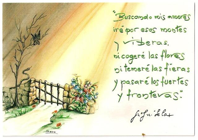 Escritura y firma de San Juan de la Cruz