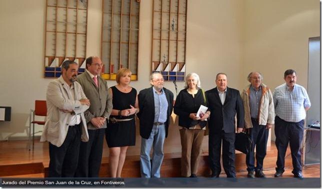 Jurado Premio de Poesía San Juan de la Cruz, en Fontiveros