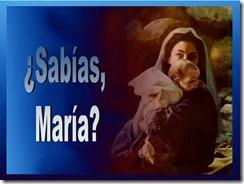 ¿Sabias, Maria?