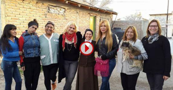 Hijas de DIos, Neuquem con Monica Astorga