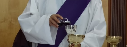 Agua y vino en la eucaristía
