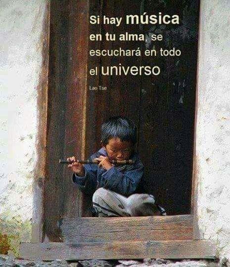 Musica propia se oye en el Universo