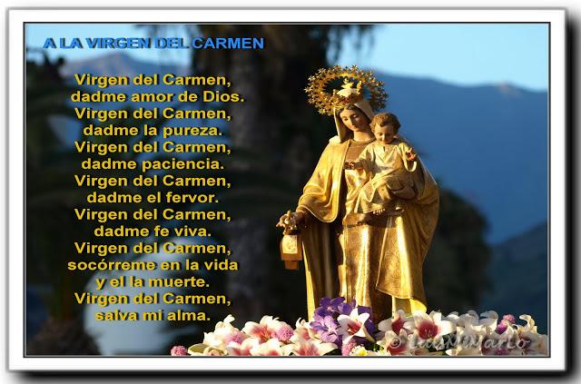 A La Virgen Del Carmen Susurro De Dios