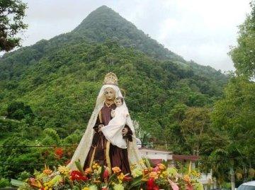 Imagen de Virgen del Carmen en San Lorenzo Montaña Santa