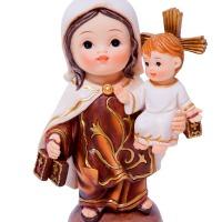 La Virgen del Carmen para niños