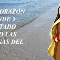 UN CORAZÓN GRANDE Y DILATADO COMO LAS ARENAS DEL MAR